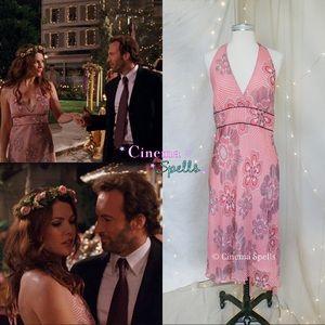 RARE Sz 10 ASO Lorelai Gilmore Girls Pink Dress